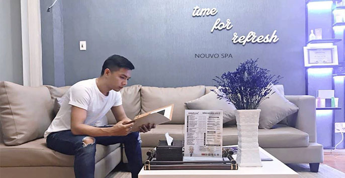 nouvo spa là 1 trong những trung tâm chăm sóc sắc đẹp uy tín tại HCM