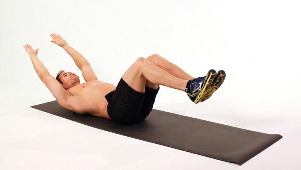 Bài tập gập bụng nâng cao (The Jacknife)