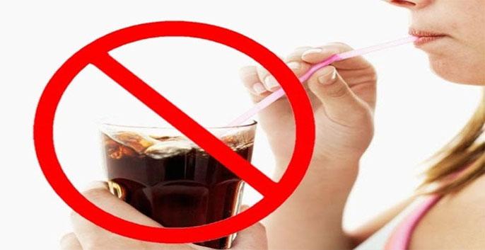 trong quá trình giảm cân bằng khoai lang thì không nên uống nước ngọt
