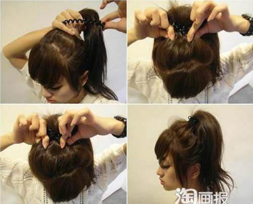 Cột tóc quá chặt - thói quen tàn phá nhan sắc