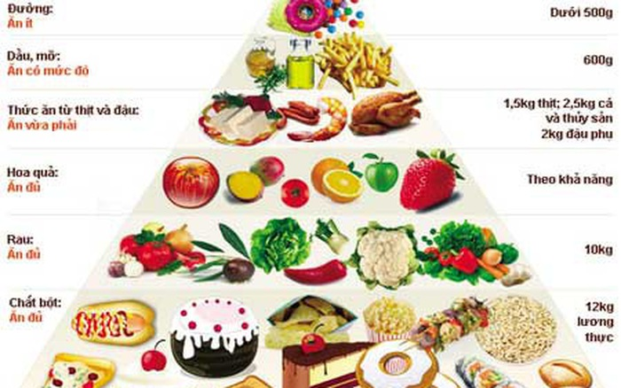 Có chế độ ăn uống khoa học - bí quyết chăm sóc sức khỏe